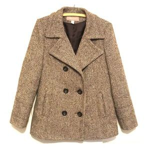 {CROFT & BARROW} wool blend coat.🍁👜💯